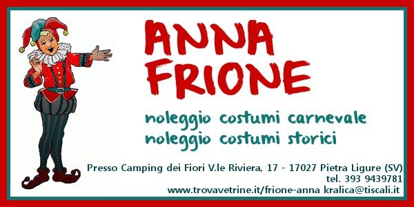 NOLEGGIO COSTUMI FRIONE ANNA