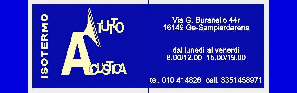 Isotermo:Isolamento Acustico a Genova Sampierdarena
