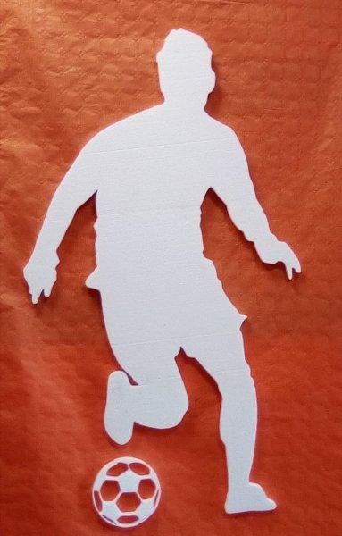 calciatore h 130cm