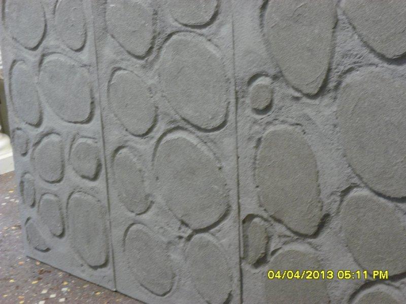 Pannelli scenografici finta pietra : (genova)