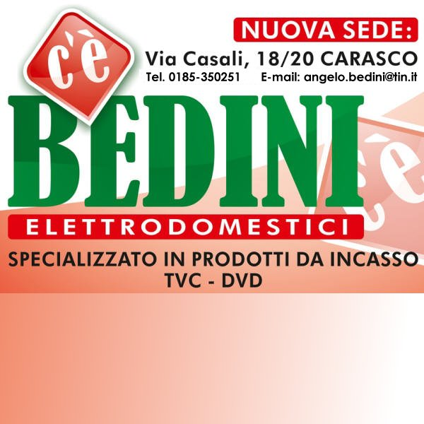 Bedini Home Appliances:Elettrodomestici a Carasco