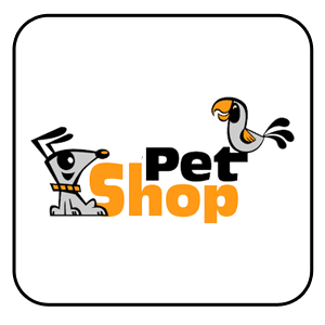 Pulsante pet shop