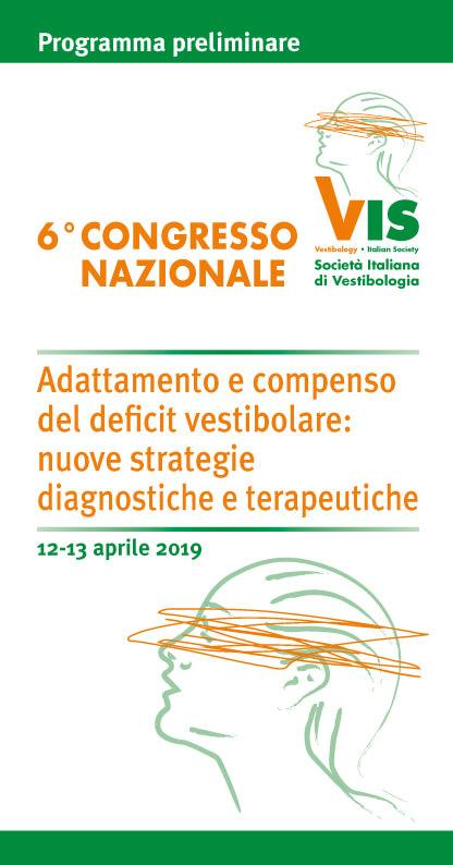 Congresso Società Italiana Vestibologia Reggio Emilia