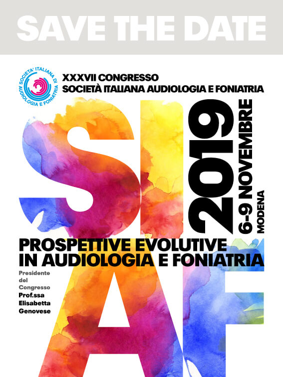 Congresso Società italiana Audiofoniatria (SIAF) - Modena