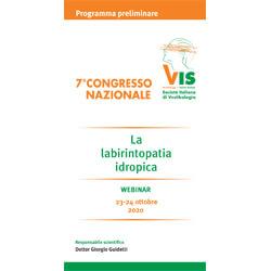 23-24. 10 .20 Labirintopatia idropica, congresso VIS - Reggio Emilia