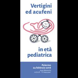 Vertigini acufeni età Pediatrica - Palermo