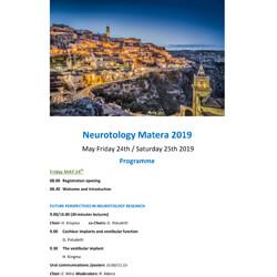 Neurotology - Matera