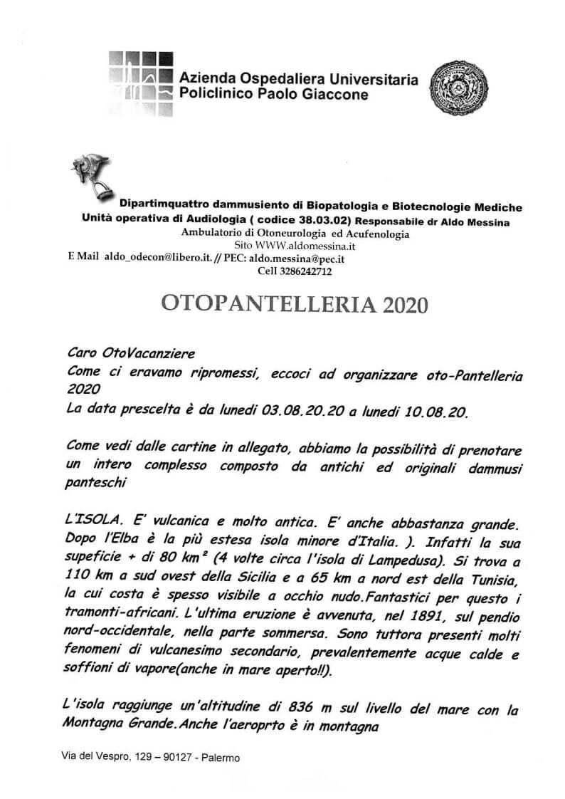 Oto-pantelleria 2020