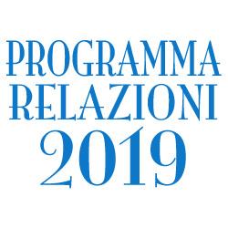 PROSSIME RELAZIONI 2019