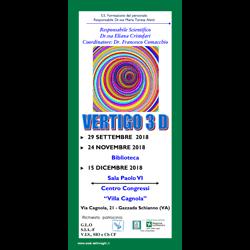 Vertigo 3 D - Varese programma