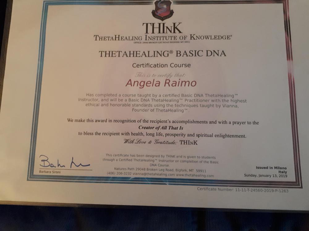 THETAHEALING BASIC DNA