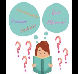 Differenza tra psicologo, psicoterapeuta e psichiatra