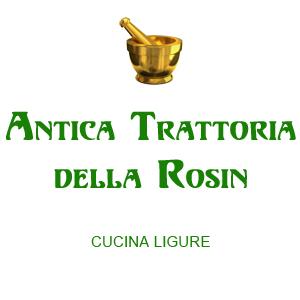 ANTICA TRATTORIA ROSIN - Ristorante a Montoggio