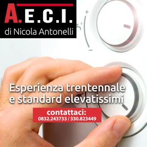 Caldaia a Gas a Lecce. Rivolgiti a A.E.C.I. DI NICOLA ANTONELLI tel 0832 243733 cell 330823449