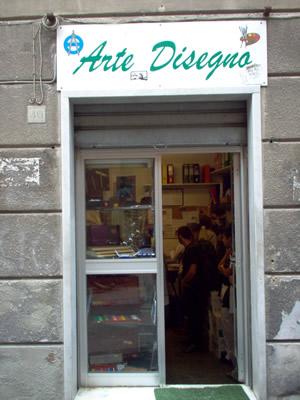 Articoli per la grafica a Genova. ARTEDISEGNO SNC tel 010 255766promozione