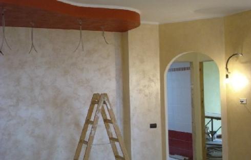 Applicazione stucco veneziano