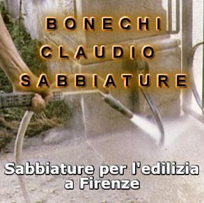 BONECHI CLAUDIO SABBIATURE E TRATTAMENTI PER L'EDILIZIA