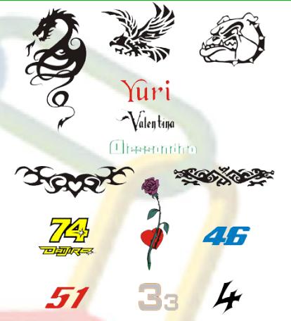 Scritte Adesive in Genere - Grafiche Moto Bici Barche