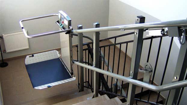 Installazione di montascale per disabili