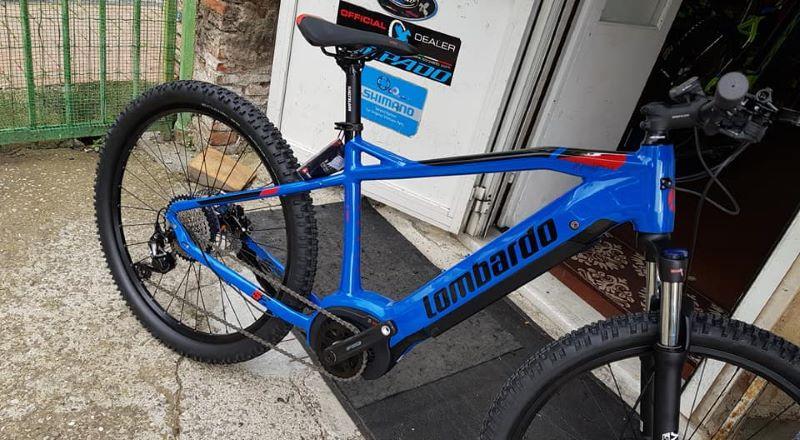 E-Bike Lombardo Tonale ruota 27.5