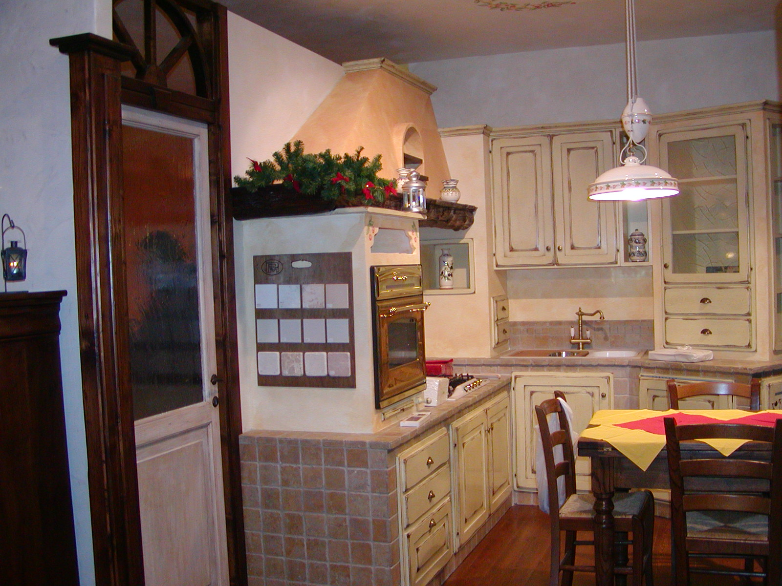 Cucine in finta muratura falegnameria cirigliano - Cucine in muratura genova ...