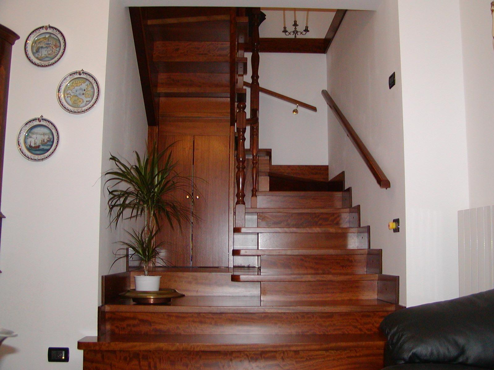 Scale in legno falegnameria cirigliano srl - Legno per scale ...