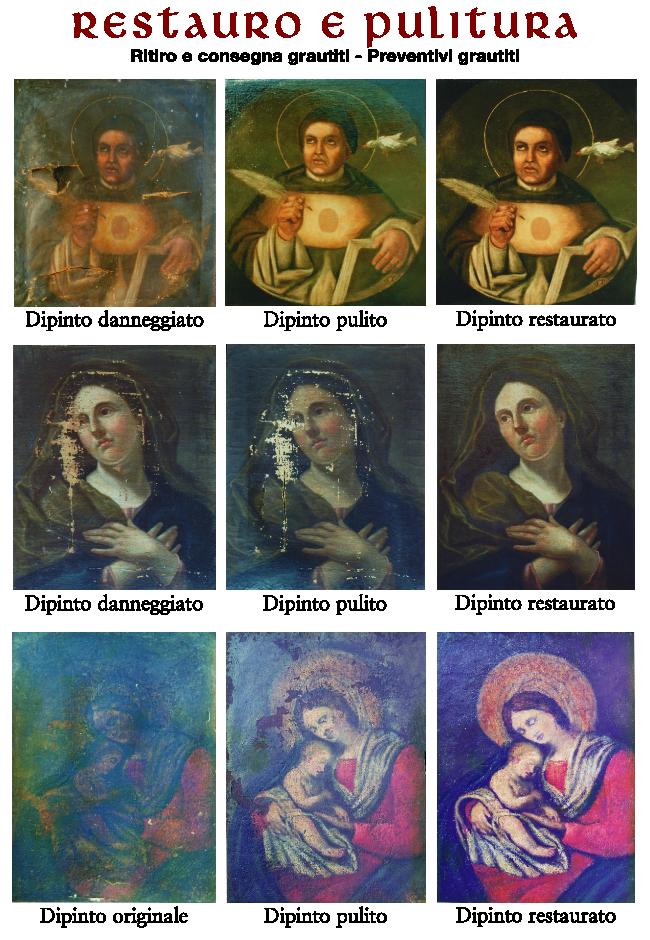 Restauro dipinti a Genova - La casa dell'arte