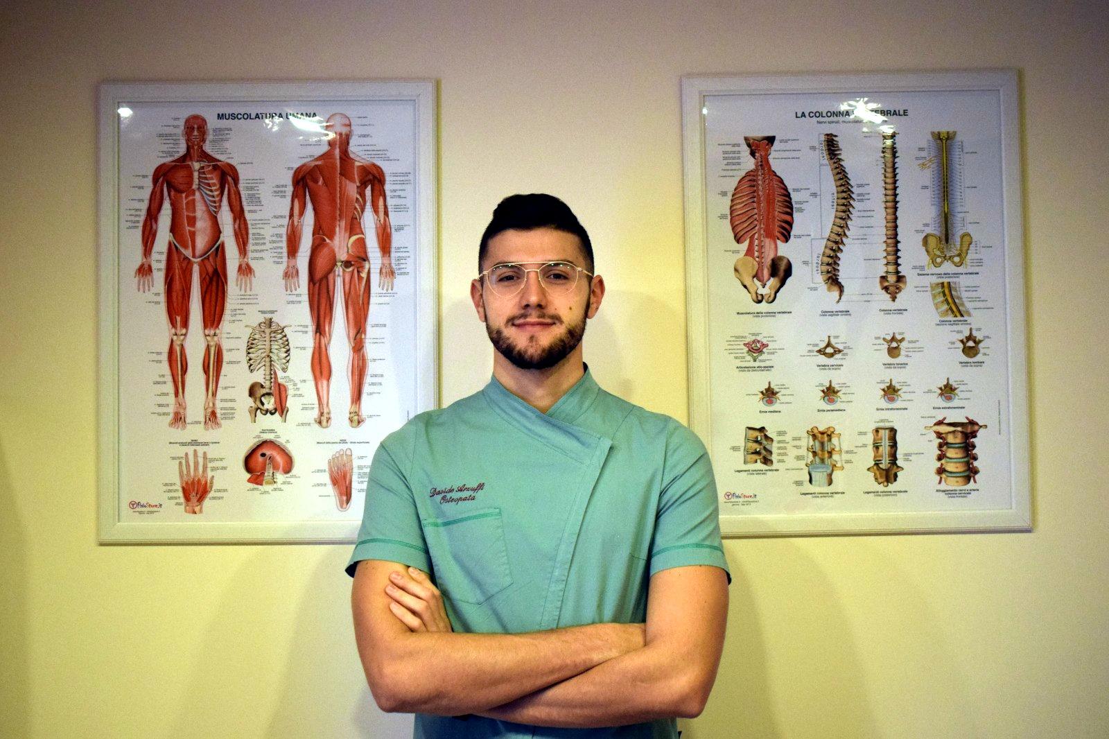 Dott. Davide Arzuffi osteopata a Bergamo