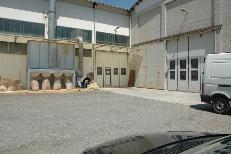 vista strada ingresso laboratorio