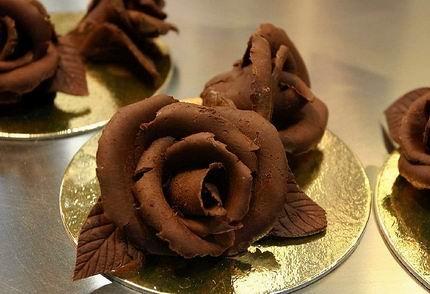 Lavorazione di cioccolato