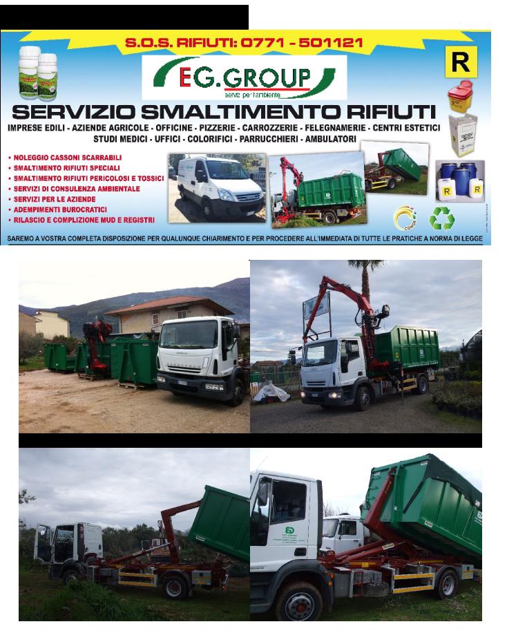 Trasporto e smaltimento rifiuti speciali a Fondi