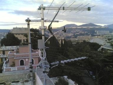 Elettronica Archimede:Antennisti a Genova
