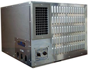 Impianti di condizionamento d' aria per uso industriale