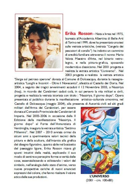 Biografia Erika Rosson