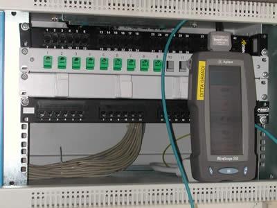 Impianti per trasmissione dati su fibra ottica