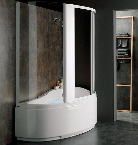 Vasche Con Doccia. Fabulous Soluzione Confort Trasforma La Vasca In ...