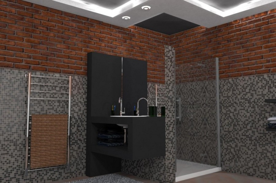 Box doccia euroserramenti snc di parasporo c for Box doccia in muratura foto