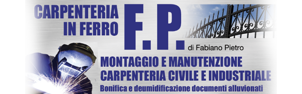 F.P CARPENTERIA IN FERRO DI FABIANO PIETRO