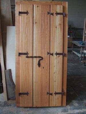Portoni rustici di montagna della bella franco falegnameria - Mobili bagno legno massiccio ...