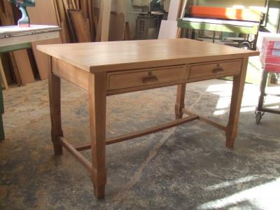 Tavolo scrivania in rovere