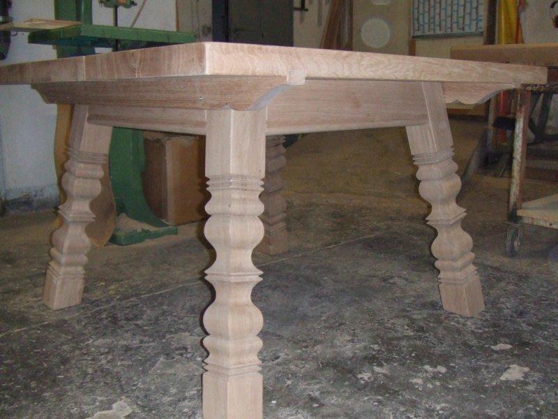 Tavolo in rovere massello modello