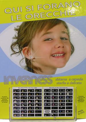 Applicazione orecchini (metodo orecchino incapsulato sterile)