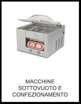 Macchine Sottovuoto e Confezionamento