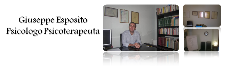 Dott. Giuseppe Esposito Psicologo e Psicoterapeuta