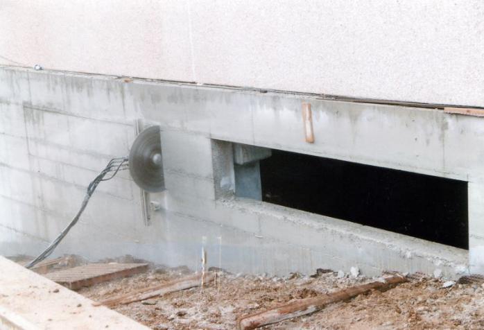 Perforazione cemento armato
