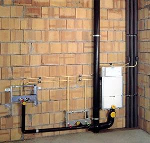 Impianti idrici per bagni e cucine