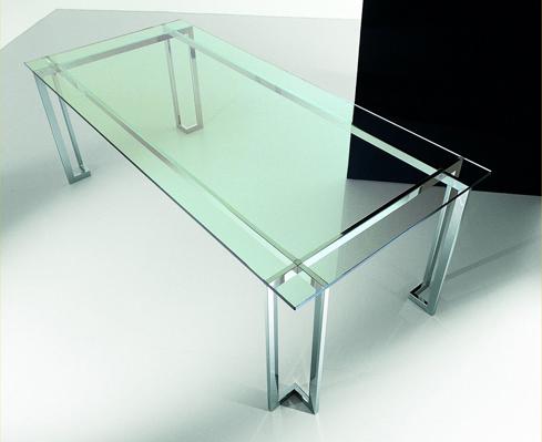 Tavoli di cristallo il vetraio di barbantani emilio for Tavoli di design in cristallo