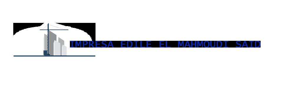 IMPRESA EDILE EL MAHMOUDI SAID