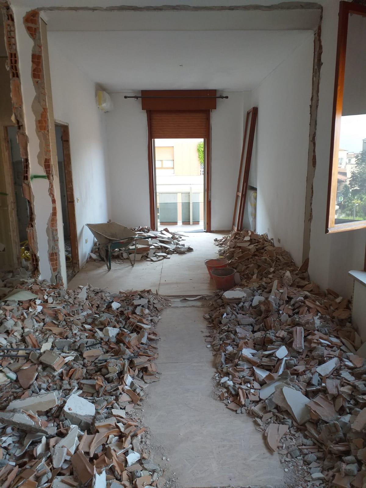 Demolizione appartamento