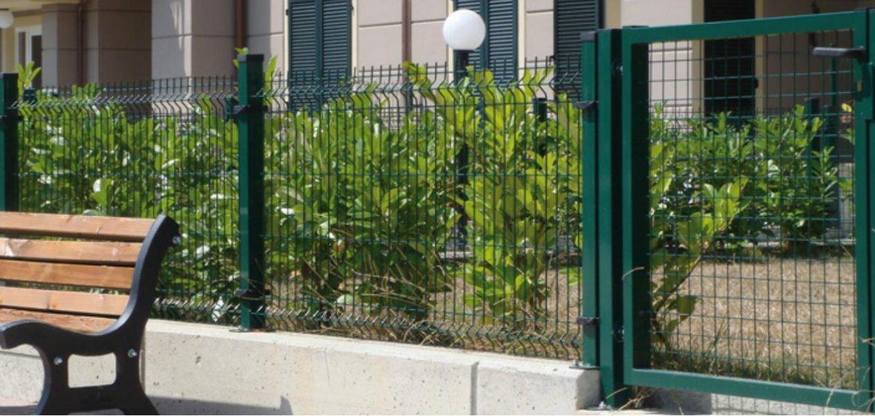 Recinzioni in rete elettrosaldata larp srl for Rete stirata per cancelli